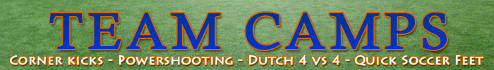 Academy of dutch soccer 2010 Team camps