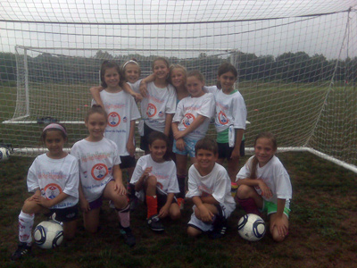 A.D.S. Summer Camp Soccer Kids